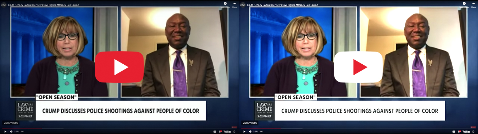 Linda Kenney Baden Interviews Civil Rights Attorney Ben Crump