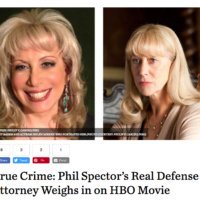 True Crime Phil Spectors Real Defense Attorney Weighs in on HBO Movie